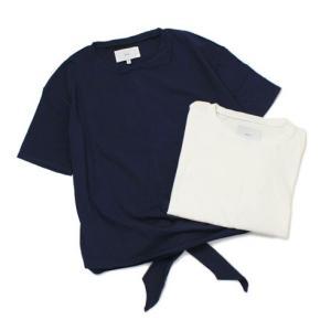 マイリ / Mhairi / コットン 変形 Tシャツ|luccicare
