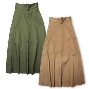 アッパーハイツ  / upper hights / THE MAXI / チノ ロング スカート / セール / 返品・交換不可|luccicare