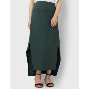 マイリ / Mhairi / 変形 サイドスリット スカート / セール / 返品・交換不可|luccicare