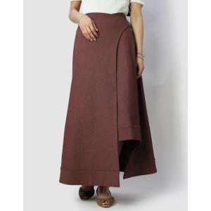 マイリ / Mhairi / コットン リネン ラップ スカート / セール / 返品・交換不可|luccicare