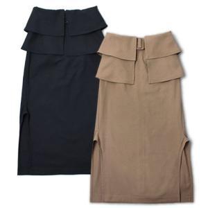 マイリ / Mhairi / コットン リネン ベルト付き スカート / セール / 返品・交換不可|luccicare