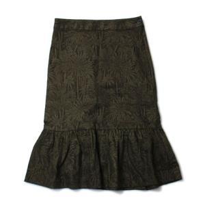 デミリー / DEMYLEE / NOLIA / コットン フラワー ジャカード スカート / セール / 返品・交換不可|luccicare