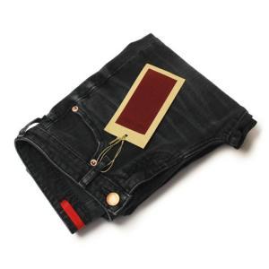 【LADIES】RED CARD ( レッド カード ) / Cherry ( チェリー ) / フレア ウォッシュド クロップド デニム パンツ【ユーズドブラック】|luccicare