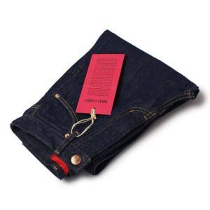 【LADIES】RED CARD ( レッド カード ) / MM70 Vintage / ハイウエスト デニム パンツ【インディゴ】【送料無料】|luccicare