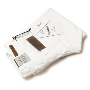 ヤヌーク / YANUK / KAY / boys slim / Spill Proof / ホワイト デニムパンツ|luccicare