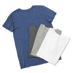 アッパーハイツ / upper hights / THE BOYFRIEND TEE / コットン Vネック Tシャツ / セール / 返品・交換不可|luccicare
