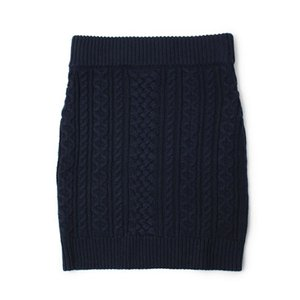 デミリー / DEMYLEE / QUINCY / ケーブル編み タイト スカート / セール / 返品・交換不可|luccicare