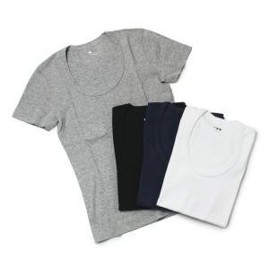 スリードッツ / three dots / jessica / コットン Uネック Tシャツ / セール / 返品・交換不可|luccicare
