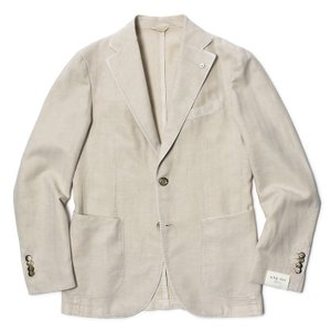 L.B.M.1911 / ジャケット / リヨセル コットン リネン / 2B 2パッチ / 製品染め / JACK SLIM / 29705824 / セール / 返品・交換不可 luccicare