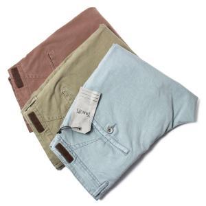 ヤヌーク / YANUK / Tapered Trousers / ガーメントダイ / テンセル混 ヴィンテージ チノ パンツ / 57203010 / 返品・交換可能|luccicare