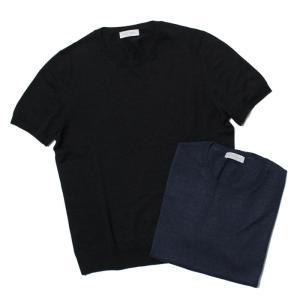 グランサッソ / GRANSASSO / クルーネック ニット Tシャツ / リネン コットン / 57169 / 返品・交換可能 luccicare