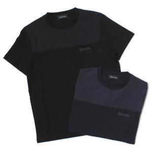 ヘルノ / HERNO / クルーネック Tシャツ / GORE-TEX / 切替 デザイン / JG0003U-52000+11106 / 返品・交換可能 luccicare