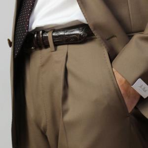デ ペトリロ / De Petrillo / ワンプリーツ スーツ / ウールサージ 3B 段返り / 3シーズン対応 / LINEA NAPOLI / NAPOLI / ABITO / 返品・交換可能|luccicare|21