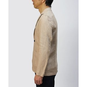 ラルディーニ / LARDINI / シャツ ジャケット / リネン 2釦 2パッチ / AMAJ-EIC1196 / 返品・交換可能|luccicare|04