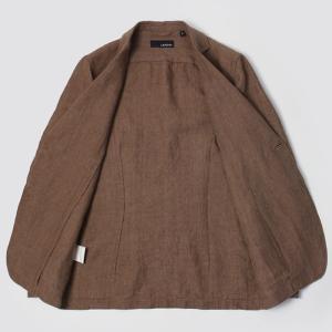 ラルディーニ / LARDINI / シャツ ジャケット / リネン 2釦 2パッチ / AMAJ-EIC1196 / 返品・交換可能|luccicare|06