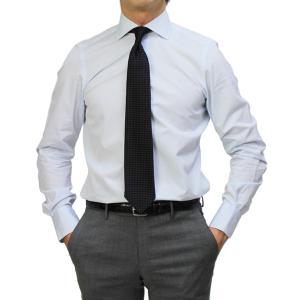 フィナモレ / Finamore / ザンテ / ZANTE / GIZA45 / カッタウェイ ドレス シャツ / 170 a due / 170双 コットン ブロード / MILANO / セール / 返品・交換不可 luccicare 17