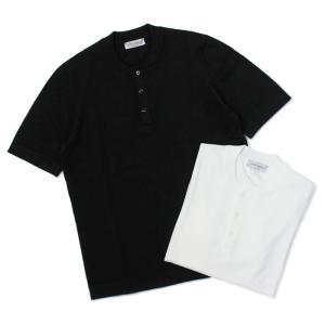 グランサッソ / GRANSASSO / ヘンリーネック ニット Tシャツ / 12G ソフト コットン / 58105 / 返品・交換可能|luccicare