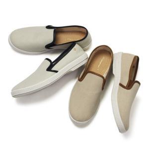 リヴィエラ レジャー シューズ / Rivieras Leisure Shoes / キャンバス スリップオン / LES CHAMPS / 返品・交換可能|luccicare