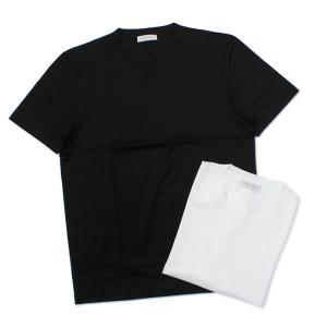 グランサッソ / GRANSASSO / クルーネック Tシャツ / マーセライズ コットン シルケット加工 / 90133 / セール / 返品・交換不可|luccicare