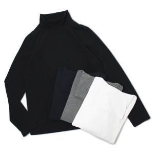 チルコロ 1901 / CIRCOLO 1901 / タートルネック ロングスリーブ Tシャツ / コットン スムースニット / 返品・交換可能 luccicare