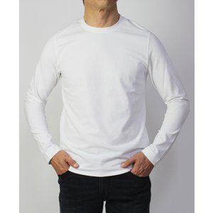チルコロ 1901 / CIRCOLO 1901 / クルーネック ロングスリーブ Tシャツ / コットン スムースニット / 返品・交換可能 luccicare 02