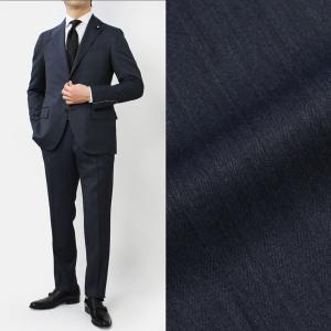 ラルディーニ / LARDINI / JP0823AQ / EXCLUSIVE / ウール ソラーロ シャドゥストライプ ワンプリーツ スーツ / セール / 返品・交換不可|luccicare