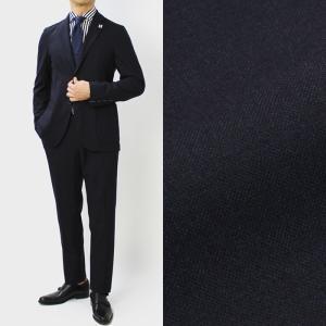 ラルディーニ / LARDINI / JQ091AQ / Easy Wear / パッカブル / ウール 撥水 ストレッチ ワンプリーツ スーツ / 返品・交換可能|luccicare