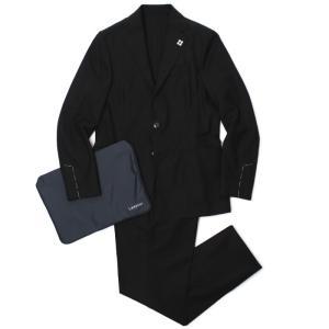 ラルディーニ / LARDINI / イージーウェア / EASY WEAR / ワンプリーツ スーツ / 撥水ウール 縦横ストレッチ / パッカブル / JQ091AQ / 返品・交換可能|luccicare