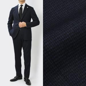 ラルディーニ / LARDINI / JQ091AQ / Easy Wear / パッカブル / ウール ストレッチ ワンプリーツ スーツ / 返品・交換可能|luccicare