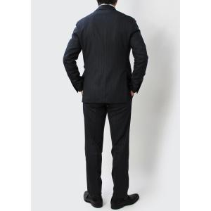 ラルディーニ / LARDINI / JL0823AQ SPECIAL / EXCLUSIVE / ウール ストレッチ ストライプ柄 3釦 段返り ワンプリーツ スーツ / 返品・交換可能|luccicare|05