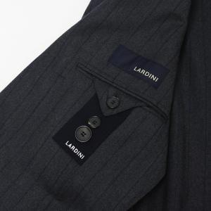 ラルディーニ / LARDINI / JL0823AQ SPECIAL / EXCLUSIVE / ウール ストレッチ ストライプ柄 3釦 段返り ワンプリーツ スーツ / 返品・交換可能|luccicare|09