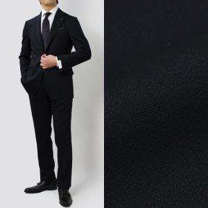 デ ペトリロ / De Petrillo / LINEA NAPOLI / NAPOLI / ウール ジョーゼット ストレッチ ワンプリーツ スーツ|luccicare