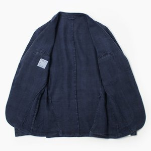 エルビーエム1911 / L.B.M.1911 / AL29705789 / JACK SLIM / リネン100% 製品洗い 2B 2パッチ ジャケット / セール / 返品・交換不可|luccicare|06