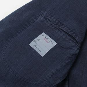 エルビーエム1911 / L.B.M.1911 / AL29705789 / JACK SLIM / リネン100% 製品洗い 2B 2パッチ ジャケット / セール / 返品・交換不可|luccicare|08