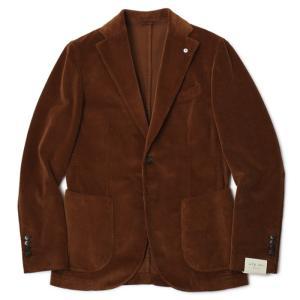 L.B.M.1911 / ジャケット / コットン コーデュロイ 2B 2パッチ / ジャック スリム  / JACK SLIM / 9201A29705106 / セール / 返品・交換不可 luccicare