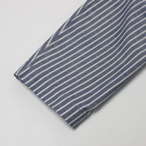ラルディーニ / LARDINI / JPCM25 / コットン ストライプ 3釦 3パッチ 製品洗い加工 シャツ ジャケット luccicare 11