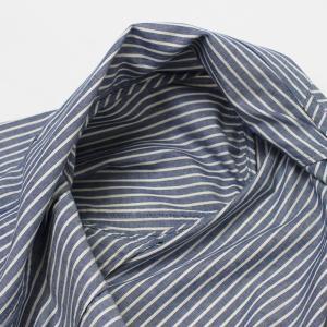 ラルディーニ / LARDINI / JPCM25 / コットン ストライプ 3釦 3パッチ 製品洗い加工 シャツ ジャケット luccicare 08