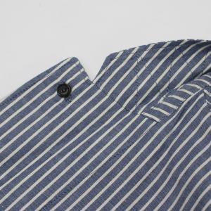 ラルディーニ / LARDINI / JPCM25 / コットン ストライプ 3釦 3パッチ 製品洗い加工 シャツ ジャケット luccicare 09