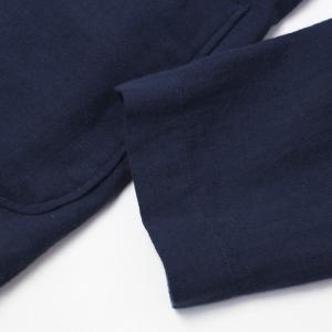 ラルディーニ / LARDINI / AMAJ / コットン リネン製品染め 2釦 2パッチ シャツ ジャケット / 返品・交換可能 luccicare 11