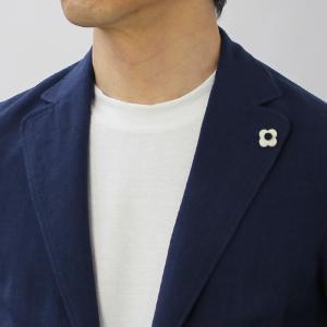 ラルディーニ / LARDINI / AMAJ / コットン リネン製品染め 2釦 2パッチ シャツ ジャケット / 返品・交換可能 luccicare 12