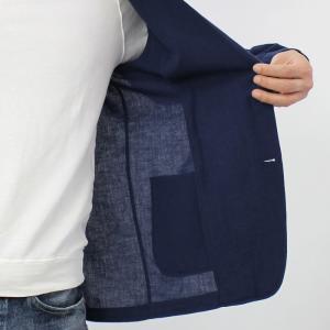 ラルディーニ / LARDINI / AMAJ / コットン リネン製品染め 2釦 2パッチ シャツ ジャケット / 返品・交換可能 luccicare 13