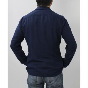 ラルディーニ / LARDINI / AMAJ / コットン リネン製品染め 2釦 2パッチ シャツ ジャケット / 返品・交換可能 luccicare 04