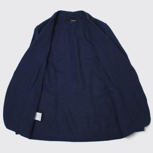 ラルディーニ / LARDINI / AMAJ / コットン リネン製品染め 2釦 2パッチ シャツ ジャケット / 返品・交換可能 luccicare 05