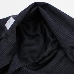 デ ペトリロ / De Petrillo / LINEA NUVOLA / ANACAPRI / ウール ストレッチ シャドウグレンチェック柄 シングル ジャケット / セール / 返品・交換不可|luccicare|09