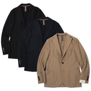 イレブンティ / eleventy / 979JA3001-JAC24018 / ウール フラノ ジャージー 2B シングル ジャケット / 返品・交換可能|luccicare