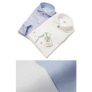 フィナモレ / Finamore / SERGIO ( セルジオ ) / BALI / コットン オックス カッタウェイ シャツ / 返品・交換可能|luccicare