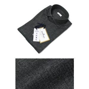 ソンリーサ / SONRISA / セミワイドカラー シャツ / コットン ジャージー メランジ プリント / J751×B437 / J134 / セール / 返品・交換不可|luccicare
