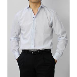 ラルディーニ / LARDINI / EGCIRO / コットン グラフチェック柄 セミワイドカラーシャツ / セール / 返品・交換不可 luccicare 02
