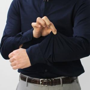 クルチアーニ / Cruciani / 長袖 シャツ / コットン シルケット加工 ジャージー / JF029 CL / セール / 返品・交換不可|luccicare|12