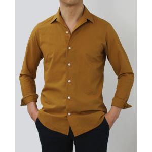 バグッタ / BAGUTTA / JOHNNY GL 09064 / 「Albini社」コットンローン オープンカラー シャツ|luccicare|02